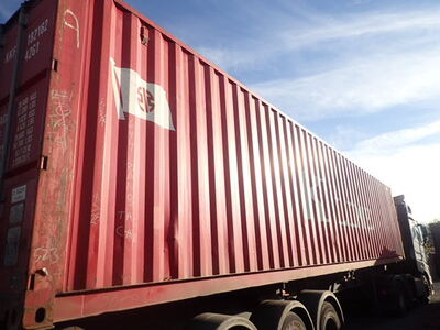 SHIPPING CONTAINERS 40ft ISO 46141 click to zoom image