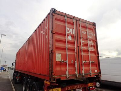 SHIPPING CONTAINERS 40ft ISO 35201