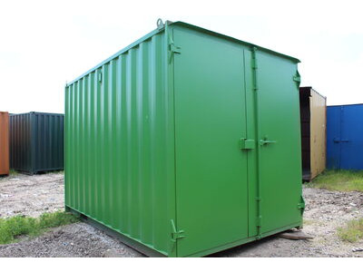 SHIPPING CONTAINERS 15ft - S1 doors click to zoom image