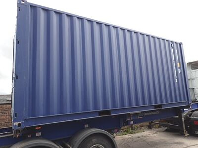 SHIPPING CONTAINERS 20ft ISO 32770 click to zoom image