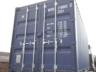 SHIPPING CONTAINERS 20ft ISO 32770