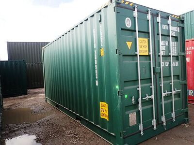 SHIPPING CONTAINERS 20ft full side access 55161 click to zoom image