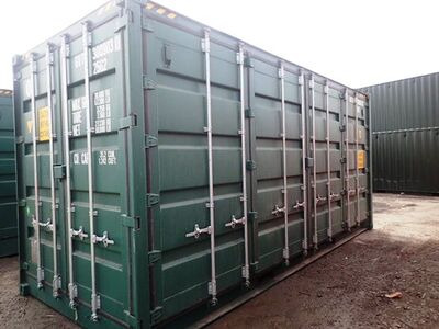 SHIPPING CONTAINERS 20ft full side access 55161