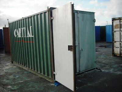SHIPPING CONTAINERS 16ft S1 doors 67522