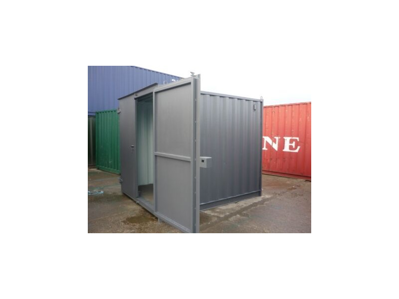 SHIPPING CONTAINERS 10ft S1 doors 33277 click to zoom image