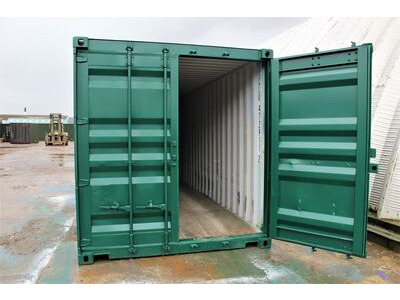 SHIPPING CONTAINERS 16ft S2 doors click to zoom image