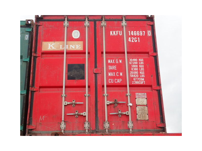 SHIPPING CONTAINERS S2 steel storage container click to zoom image