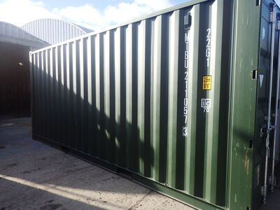 SHIPPING CONTAINERS 20ft ISO 41554
