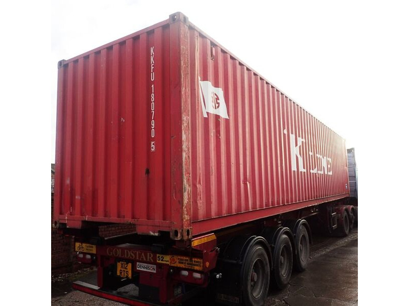 SHIPPING CONTAINERS 40ft ISO 56393 click to zoom image