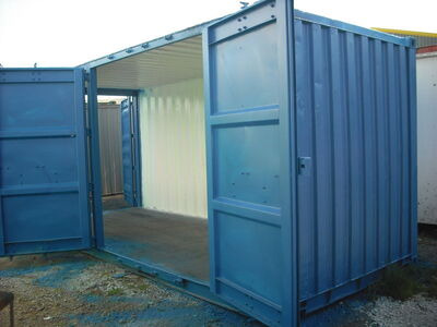 SHIPPING CONTAINERS Container Side Doors click to zoom image