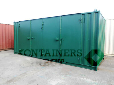 SHIPPING CONTAINERS 20ft side access SD202