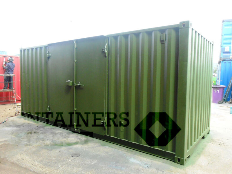 SHIPPING CONTAINERS 20ft S1 side doors 40067 click to zoom image
