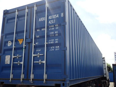 SHIPPING CONTAINERS 20ft ISO 41561
