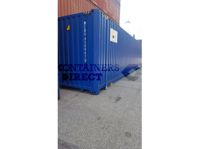 SHIPPING CONTAINERS 45ft high cube HCPW04 click to zoom image