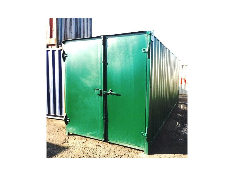 SHIPPING CONTAINERS 20ft S1 doors 45199 click to zoom image