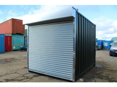 SHIPPING CONTAINERS 8ft S4 Doors