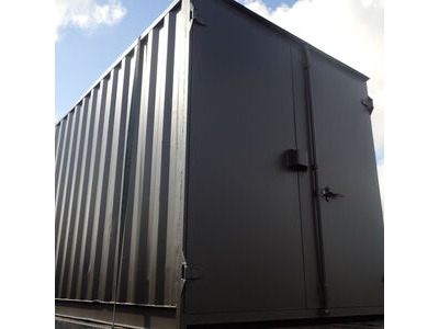 20ft New Shipping Containers 20ft Once-Used - S1 doors