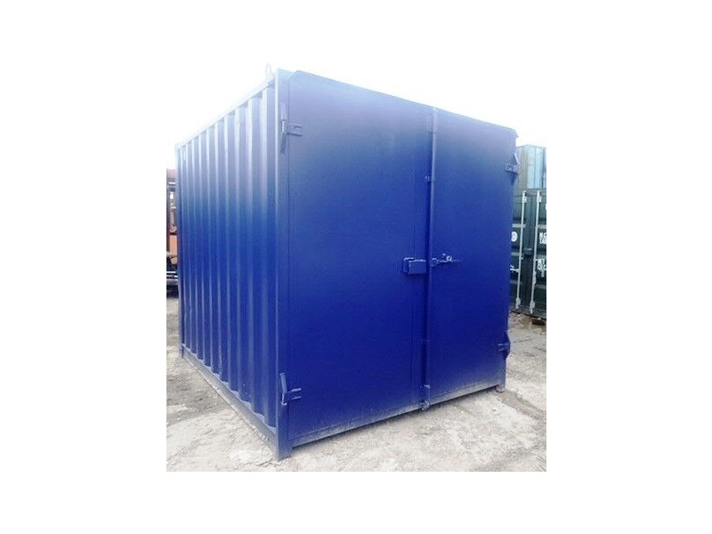 SHIPPING CONTAINERS 10ft S1 doors 46159 click to zoom image