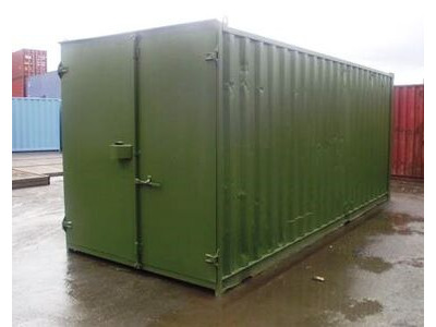 SHIPPING CONTAINERS 20ft S1 doors Newport