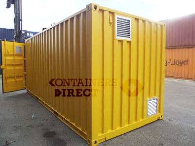 SHIPPING CONTAINERS 15ft once used Falcon chemical store F15