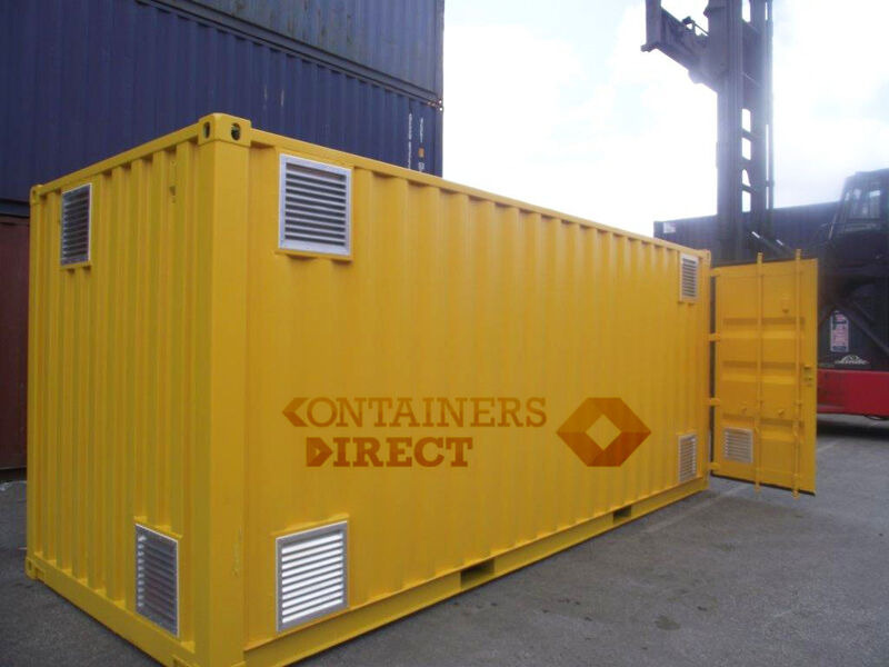 SHIPPING CONTAINERS 20ft used Falcon chemical store F20 click to zoom image