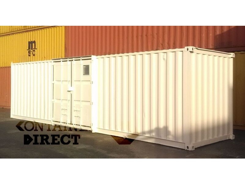 SHIPPING CONTAINERS 32ft used Falcon chemical store 43133 click to zoom image
