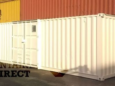 SHIPPING CONTAINERS 40ft once used Falcon chemical store F40