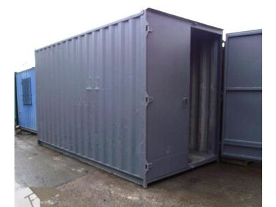 SHIPPING CONTAINERS 14ft S1 doors high cube HL9
