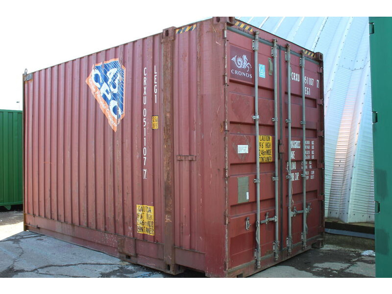 SHIPPING CONTAINERS 10ft pallet wide high cube container click to zoom image