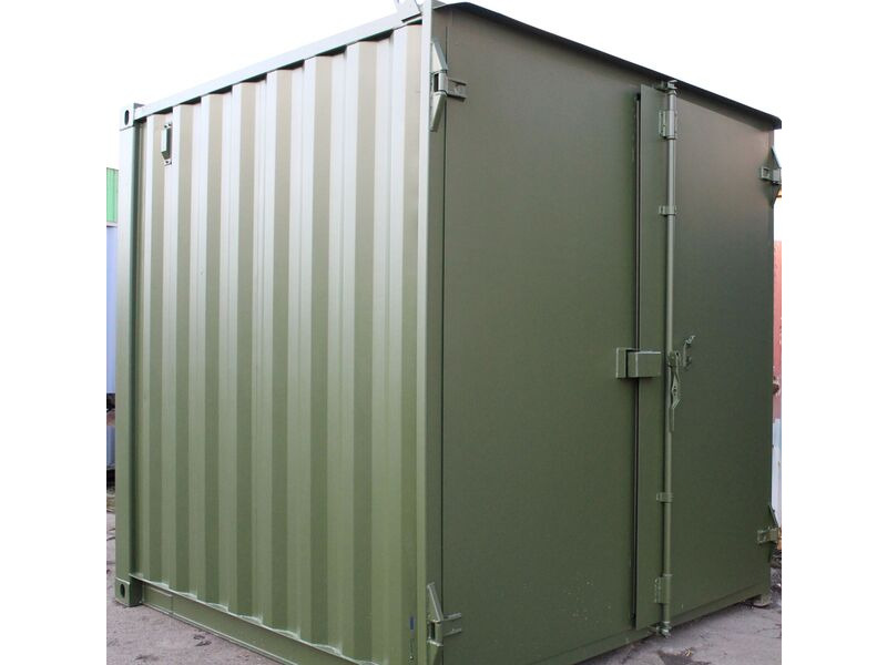 SHIPPING CONTAINERS 8ft - S1 Doors click to zoom image