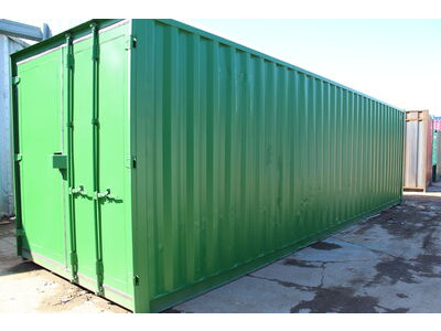 SHIPPING CONTAINERS 25ft Shipping Container S3 Doors