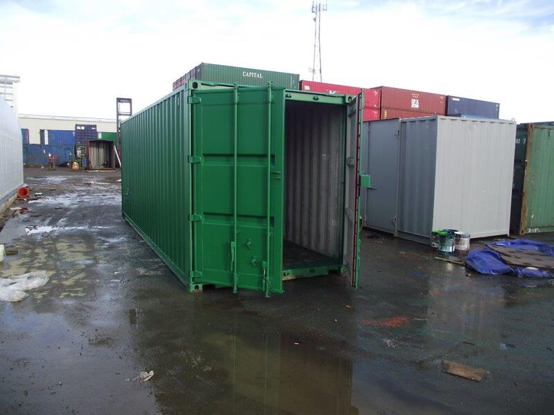 SHIPPING CONTAINERS 25ft S2 doors click to zoom image
