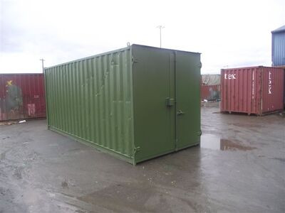 SHIPPING CONTAINERS 25ft S1 doors
