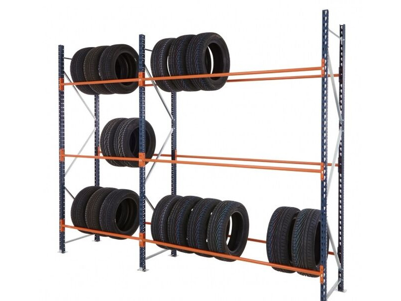 SHIPPING CONTAINERS 10ft Container Tyre Racking click to zoom image