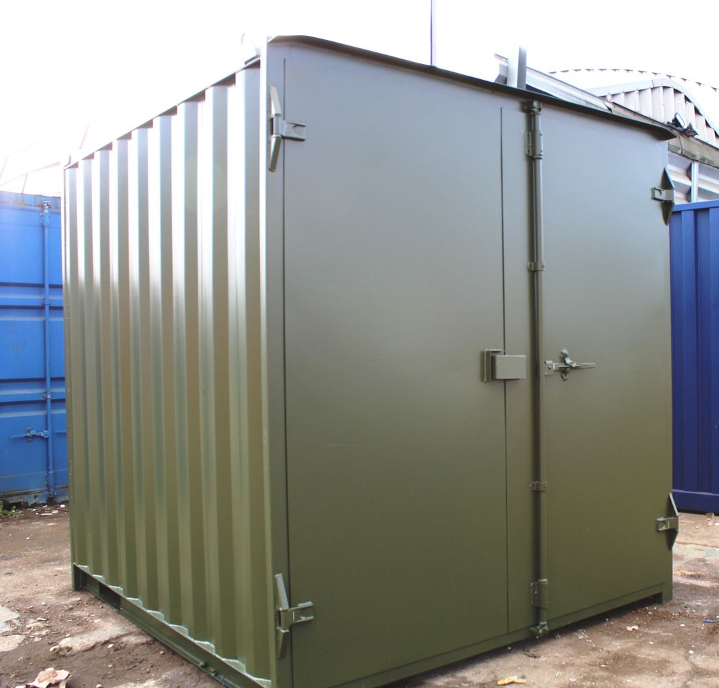 Shipping Containers 10ft S1 Doors Liverpool 163 1245 00