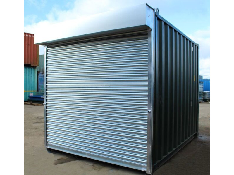 10ft Used Shipping Containers 10ft S4 Doors click to zoom image