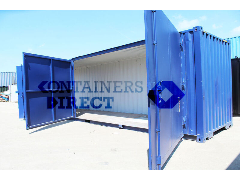 SHIPPING CONTAINERS 40ft extra wide doors click to zoom image