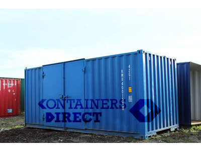 SHIPPING CONTAINERS 20ft side door