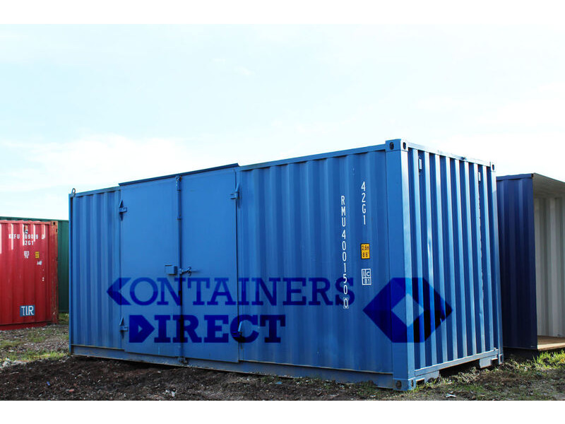 SHIPPING CONTAINERS 20ft side door click to zoom image
