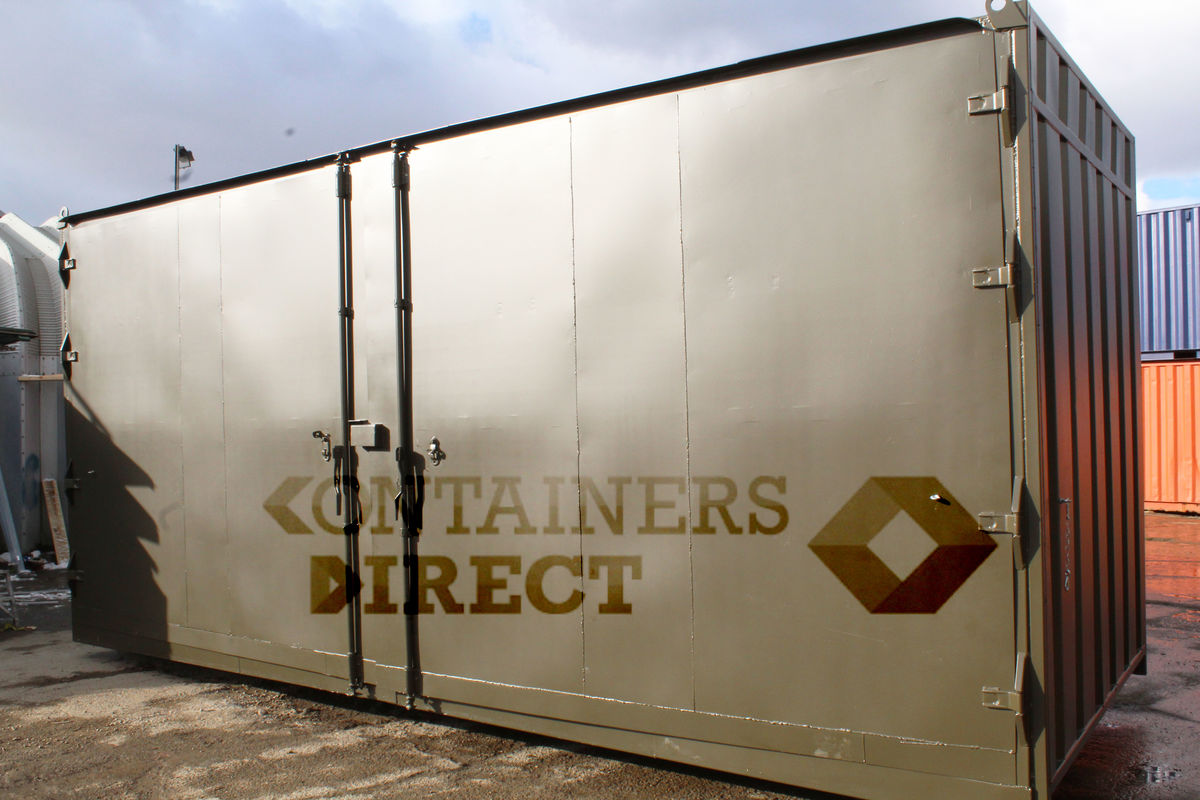 SHIPPING CONTAINERS 21ft with 20ft wide side door | | Case