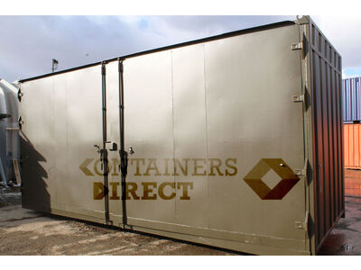 SHIPPING CONTAINERS 21ft with 20ft wide side door