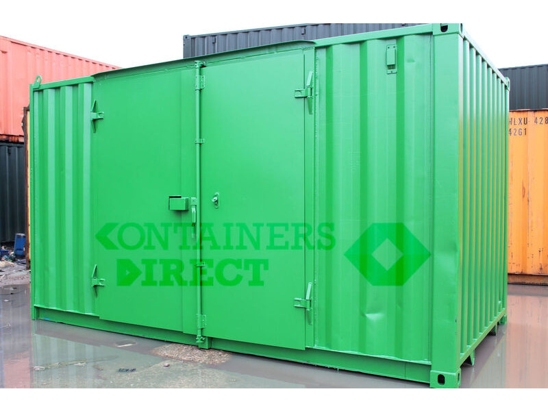 SHIPPING CONTAINERS 15ft side doors click to zoom image