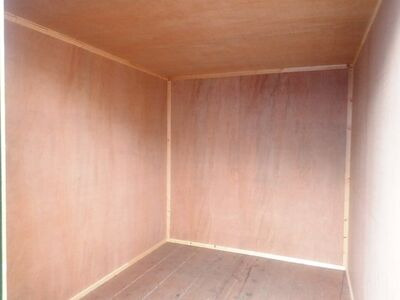 SHIPPING CONTAINERS 15ft once used ply lined container PO915