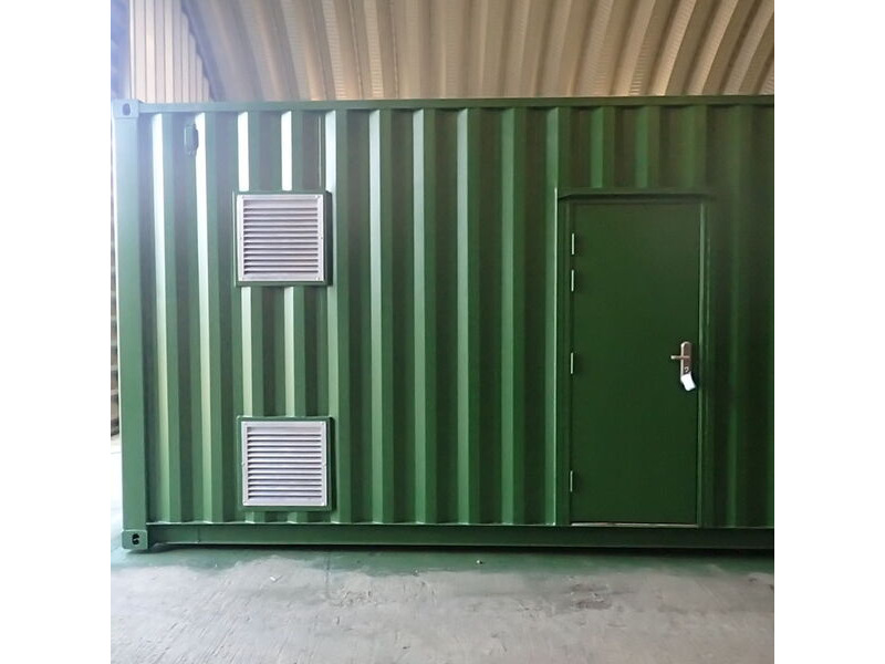 SHIPPING CONTAINERS 600mm x 600mm louvre vent click to zoom image
