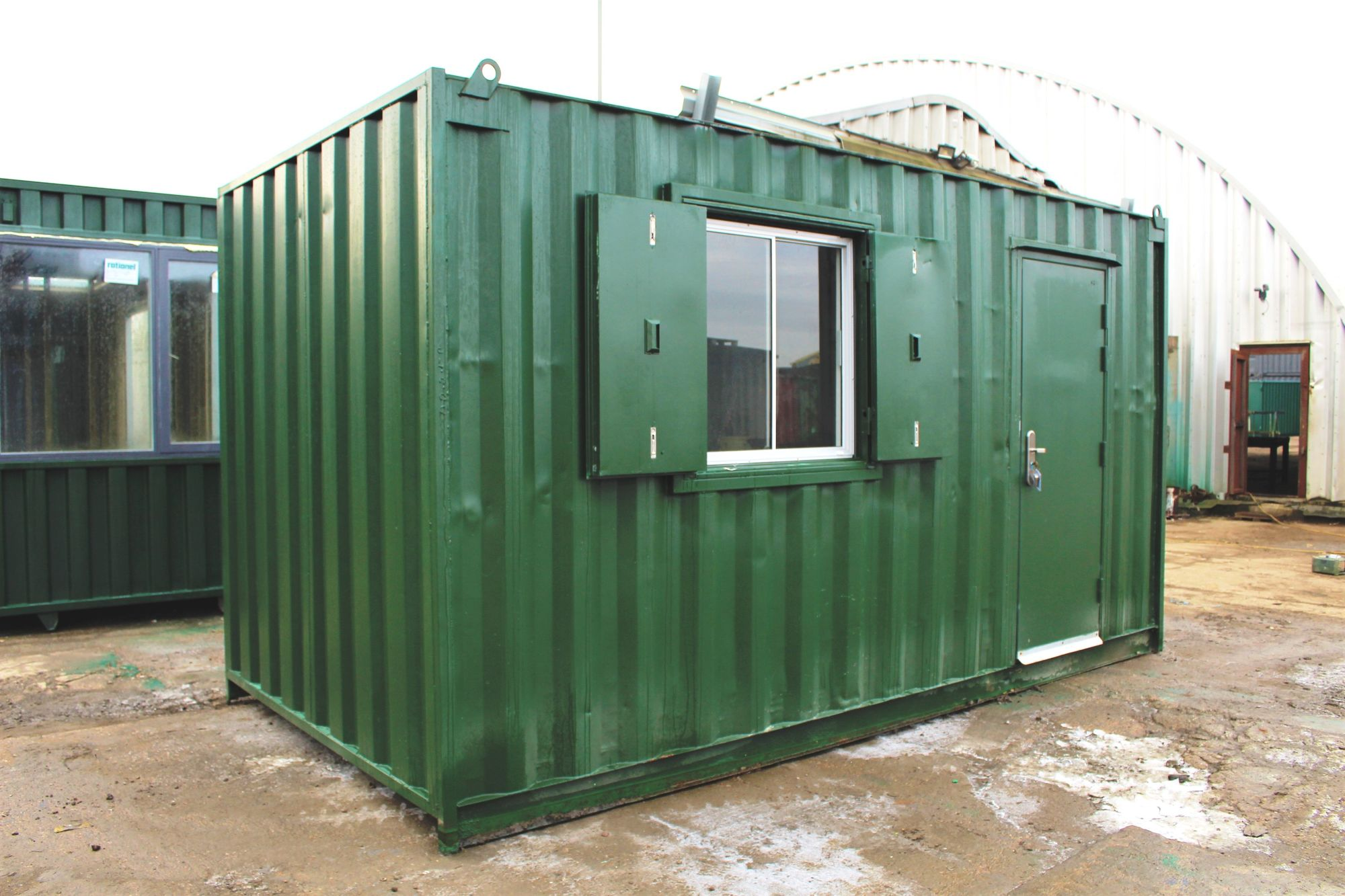 SHIPPING CONTAINERS 15ft ModiBox Office   £4050.00 ...