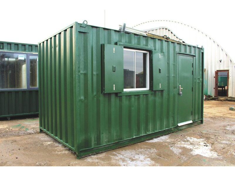 SHIPPING CONTAINERS 15ft ModiBox Office click to zoom image