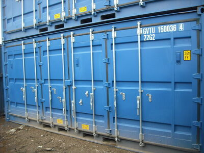 SHIPPING CONTAINERS 20ft full side access CDSD20 click to zoom image