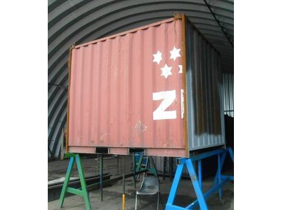 SHIPPING CONTAINERS 10ft S2 doors with fork pockets HL21
