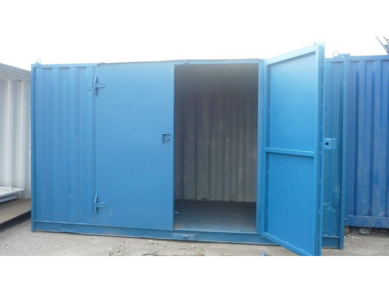 SHIPPING CONTAINERS 15ft high cube, with end and side doors HL4A click to zoom image