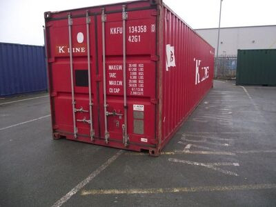 SHIPPING CONTAINERS 40' Metal Container